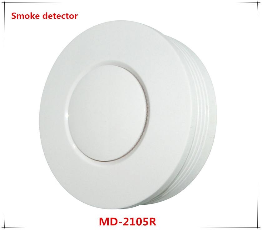 Nice design Md-2105R wireless Smoke detector Standalone fire smoke sensor compatible with focus Alarm host 10 pcs lot standalone wireless smoke detector independant smoke alarm sensor