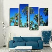 Haushalt schmuck schöne hd druck hohe kokospalmen von wandbild auf die wand Korridor hintergrund dekoration