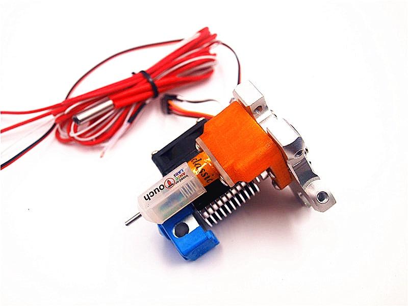 Delta Kossel rostock imprimante 3D M3/M4 trou fileté effecteur hotend avec capteur de nivellement de lit automatique TLTouch sonde tactile