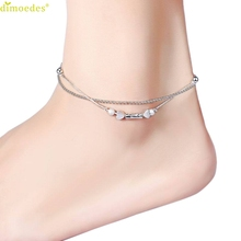 Diomedes Newest Creative Summer New Women Chain Anklet Barefoot Sandal Beach Foot Jewelry Trendy Anklet
