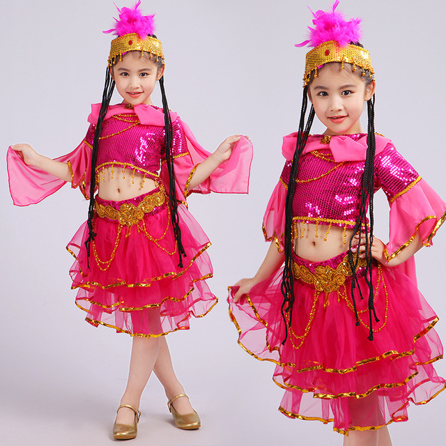 2018 new Children Belly Dancing Costume Kids Indian Dance Dress Bollywood Dance Costumes Girls Performance Dancing  sc 1 st  AliExpress.com & 2018 new Children Belly Dancing Costume Kids Indian Dance Dress ...