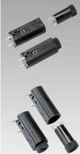 UL  Certification PTF-45 Vertical 5 * 20 Fuse Holder Horizontal Line Fuse Holder Glass Holder