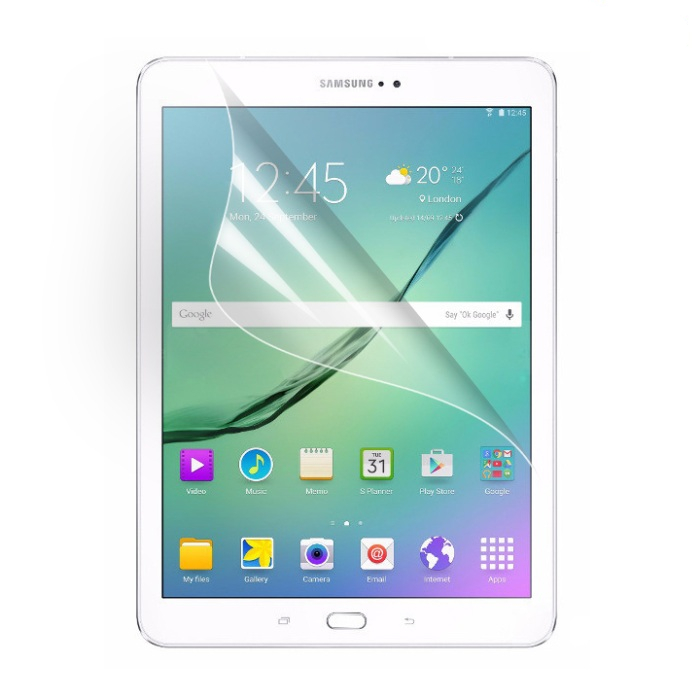 Clear LCD Screen Protector Protective Film For Samsung Galaxy Tab S2 8.0 T710 T715 T711 Tablet + Alcohol Cloth + Clean Cloth