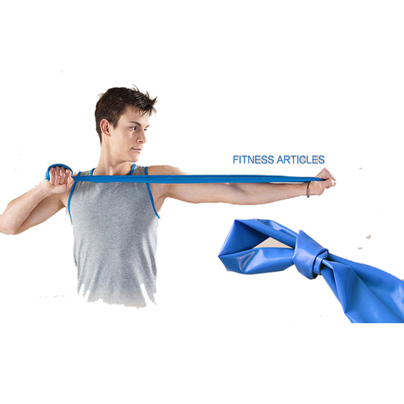 Yoga Pilates Stretch Resistance Band Exercise Fitness Band Training Elastic Exercise Fitness Rubber 150cm natural rubber 4