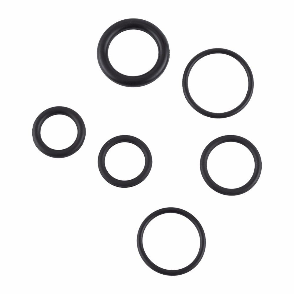 225Pcs/sets Black Rubber O Ring Assortment Set Hydraulic Plumbing ...