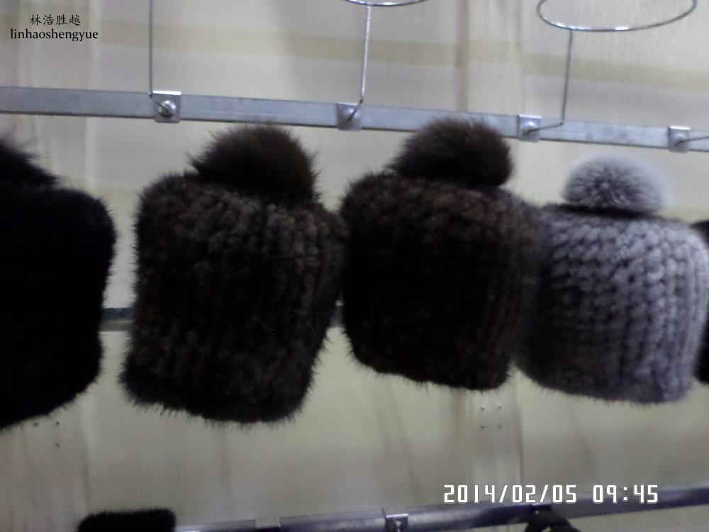 ФОТО Linhaoshengyue Mink fur hats on the ball