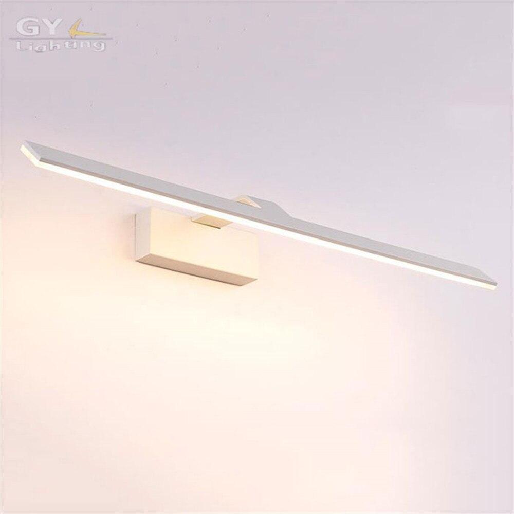 L42 52 62 72 cm Moderno Cuarto de Baño Espejo de Luz Led de Interior  Llevada Impermeable Para Baño Aplique de La Pared lámpara de la lámpara  Apliques De ... 82ed074b5bdf