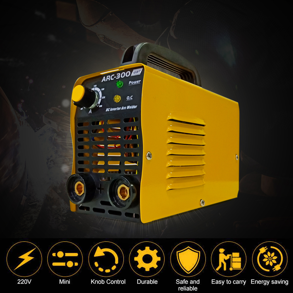 EU Plug 220V 15-180A Handheld Inverter Mini Electric ARC Welding Welder Machine Tool Mini WelderEU Plug 220V 15-180A Handheld Inverter Mini Electric ARC Welding Welder Machine Tool Mini Welder