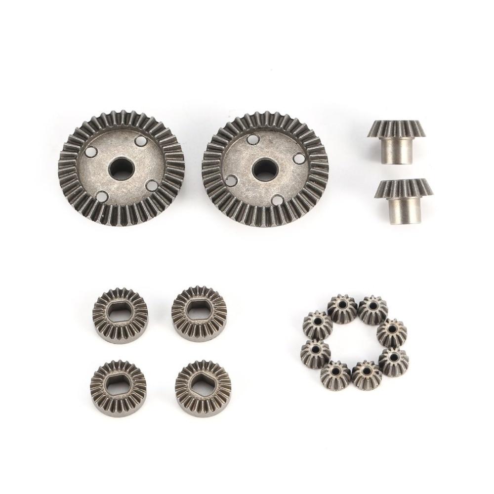 12 t 15 t 24 t 38 t Metall Vorne Hinten Differential/Motor Fahren Getriebe Upgrade Teile Zwei Sätze für WLtoys A949 A959 1/18 RC Auto