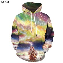 3d Hoodies Rainbow Sweatshirts men Aurora Hoodie Print Art Hoody Anime Colorful Hoodes 3d Animal Hooded Casual Long Sleeve Cool hooded colorful stripe print long sleeve patterned hoodies