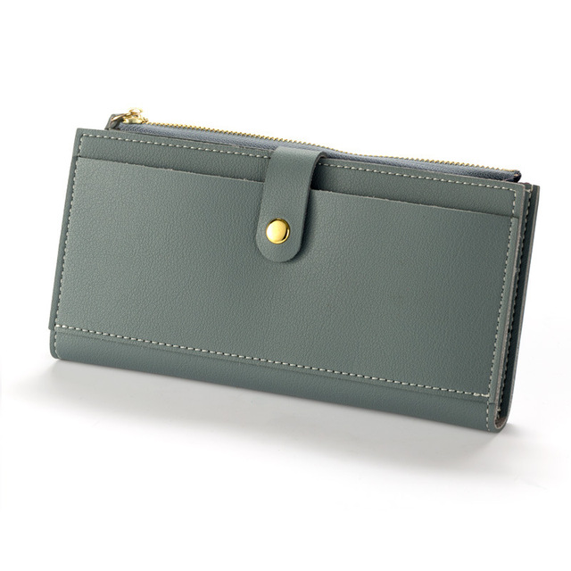 Luxury Long Durable Leather Women's Hand Wallet