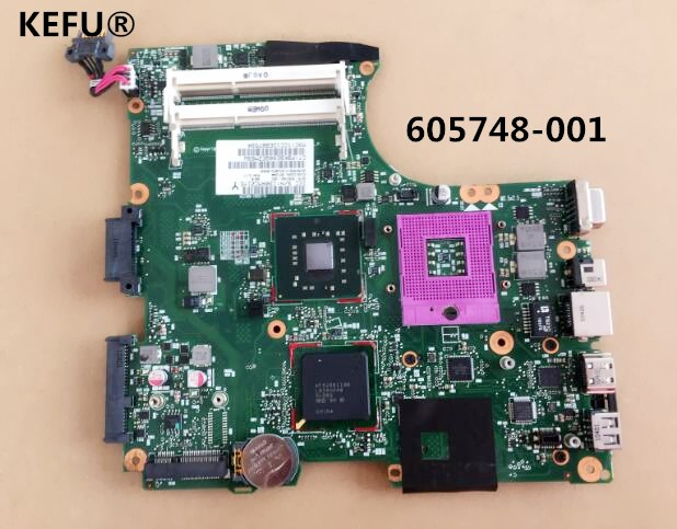 KEFU free shipping Original 605748 001 For HP CQ320 420 620 laptop motherboard GL40 Motherboard s478