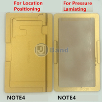 OCA laminating Positioning Aluminum Mould For Samsung Galaxy S6 edge plus S7 edge Note 4 edge curved-display LCD screen repair
