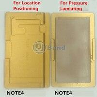 Posicionamiento Molde De Aluminio de laminación OCA Para Samsung Galaxy S6 edge plus S7 borde Nota 4 borde curvo-pantalla LCD reparación de la pantalla