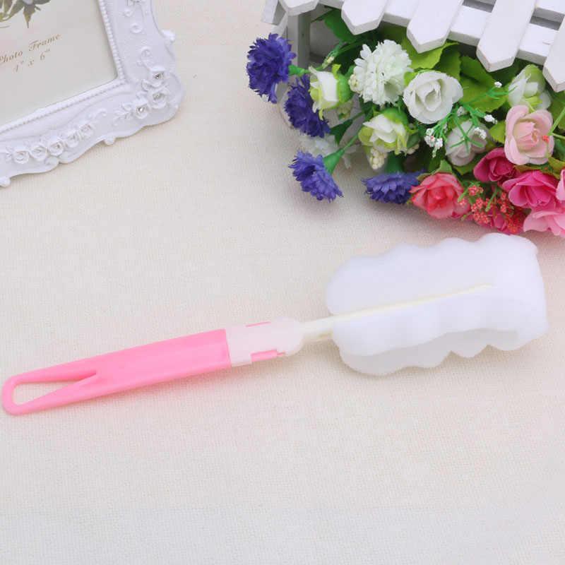 Do butelek dla niemowląt gąbka szczotka dla nowo narodzonego dziecka szczotka do butelek na mleko do karmienia narzędzie do czyszczenia