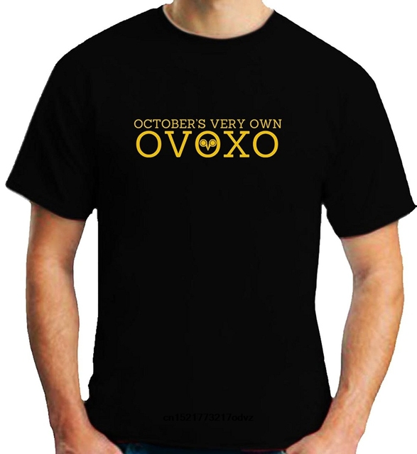 7800aa5d Men T shirt OVOXO Drake Owl Short Sleeve Black T Shirt funny t-shirt  novelty tshirt women