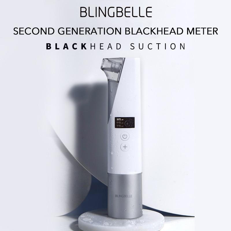 BlingBelle deuxième génération aspirateur points noirs nettoyant pores aspirateur Spot aspirateur nez noir extracteur outil