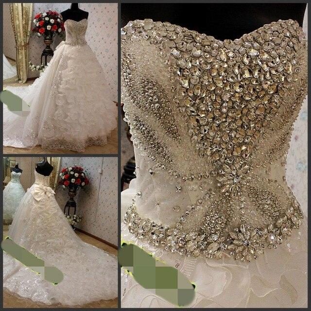 Wedding Gowns With Swarovski Crystals: 2013 Wedding Dress With Swarovski Crystals Wedding Dress