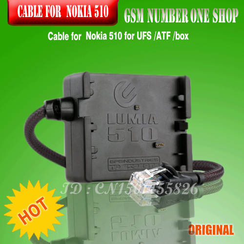 Cable for Nokia Lumia 510 flash unlock repair for jaf/ufs box