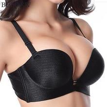 BEFORW Super Push Up Women Bra Sexy Brassiere Underwear Backless Strapless Seamless Bras For Women Sutian Plus Size Cup bralette