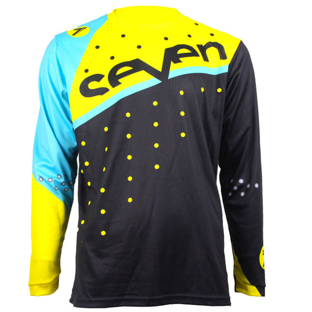 New Arrival motorsport Jersey Mountain Motorcycle DH Jerse Motocross Jersey Breathable Light Quick Dry Cycling Jersey 3