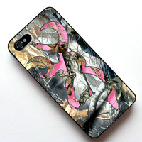Country Girl Camos Pink Case Cover Case For Apple Iphone 5 5S