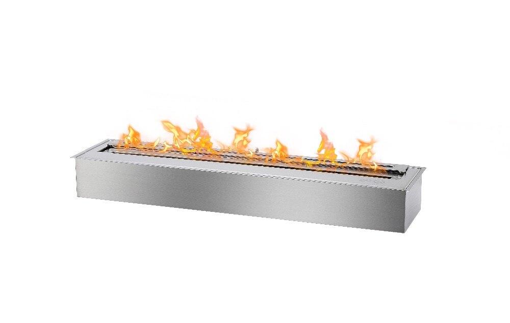 Inno гостиная огонь 36 дюймов Современный Камин этанол дымоход Крытый