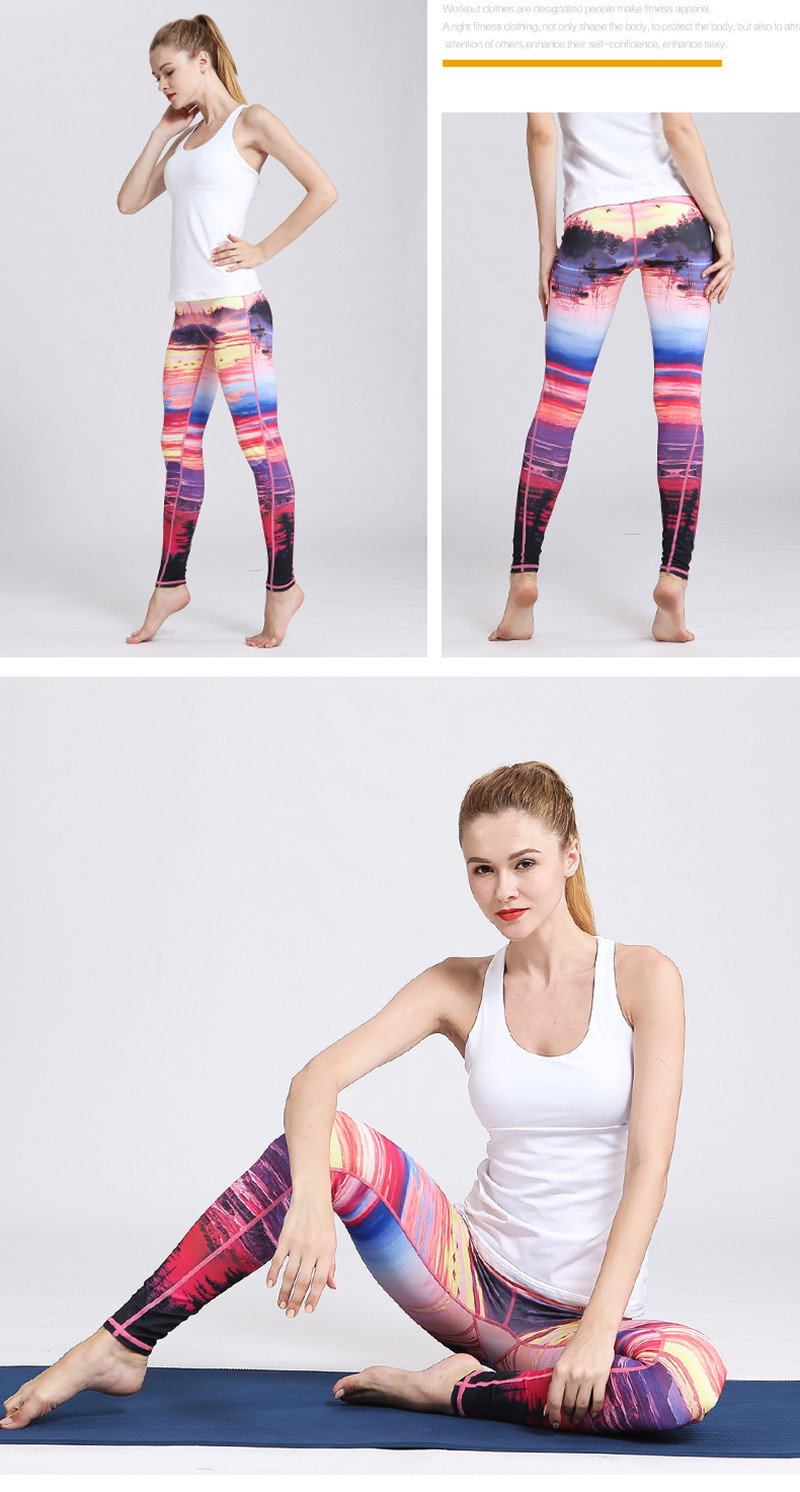 HTB1Or1HOq6qK1RjSZFmq6x0PFXaq - Fast Dry Women Yoga Pants Workout Print Gym Leggings Running Fitness Training Elastic Sexy Long Tights Trousers for Dancing