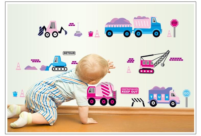 Anak Favorit Anak Usia Dini 7098 Kartun Mobil Stiker Anak Anak