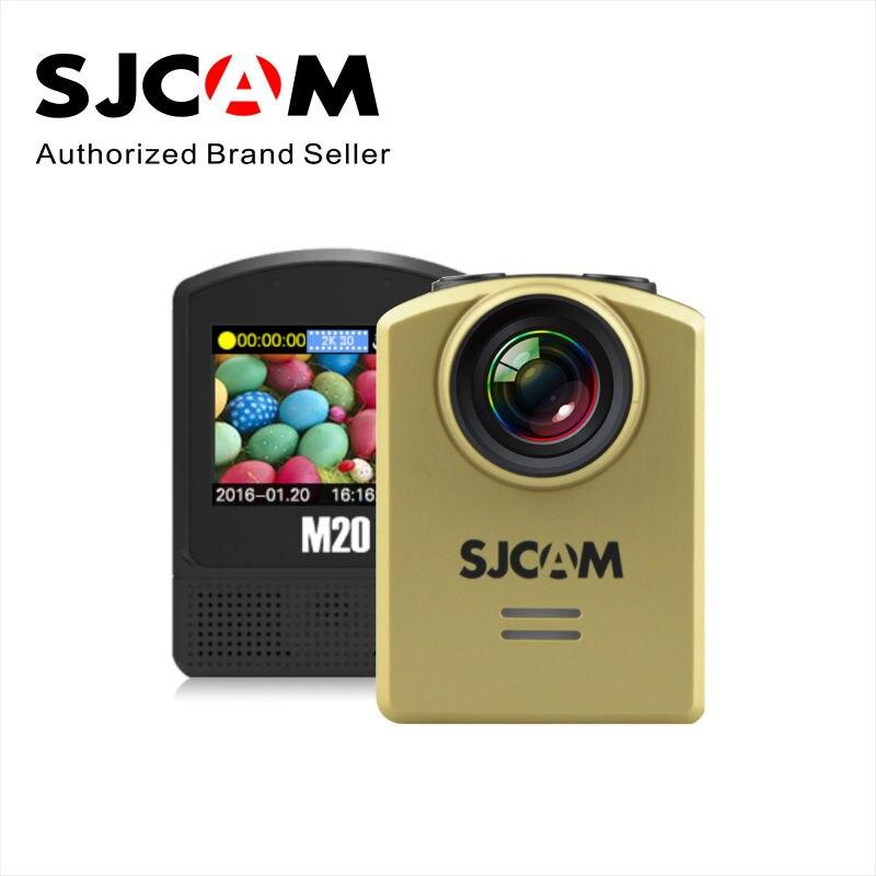 Original SJCAM M20 Wifi Gyro Mini Action Sport Camera 4K 24fps NTK96660 16MP Remote control Waterproof DV With RAW Format in stock sjcam legend sj6 wifi notavek 96660 4k 24fps ultra hd waterproof camera action cam 2 0 touch screen remote sport dv