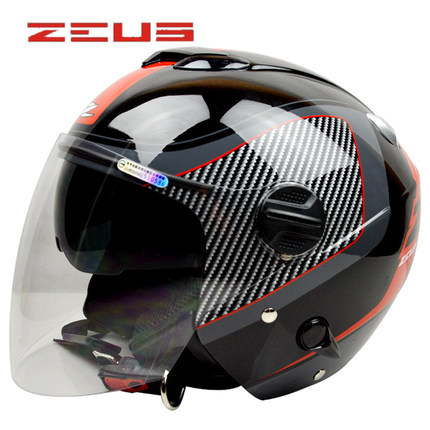 buy helmets zeus open face motorcycle helmets women retro helmet jet scooter. Black Bedroom Furniture Sets. Home Design Ideas