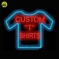 Neon Signs Voor Kapper Kam Motorfiets met Vleugels Mani Pedi Shampoo Het 5:00 Ergens Custom T-Shirts Katoen Snoep medische