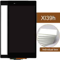 10pcs Black LCD For Sony Xperia Z Ultra XL39h Display C6833 C6802 Touch Screen Panel Assembly