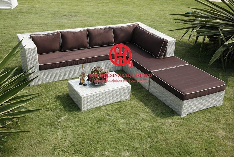 F-leisure Ways Outdoor Rattan Sofa Furniture, Luxury Rattan Outdoor Furniture