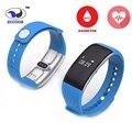 Zucoor smartband pulseira de fitness rastreador de saúde oxímetro de pulso monitor de freqüência cardíaca zb40 pulseira para ios android