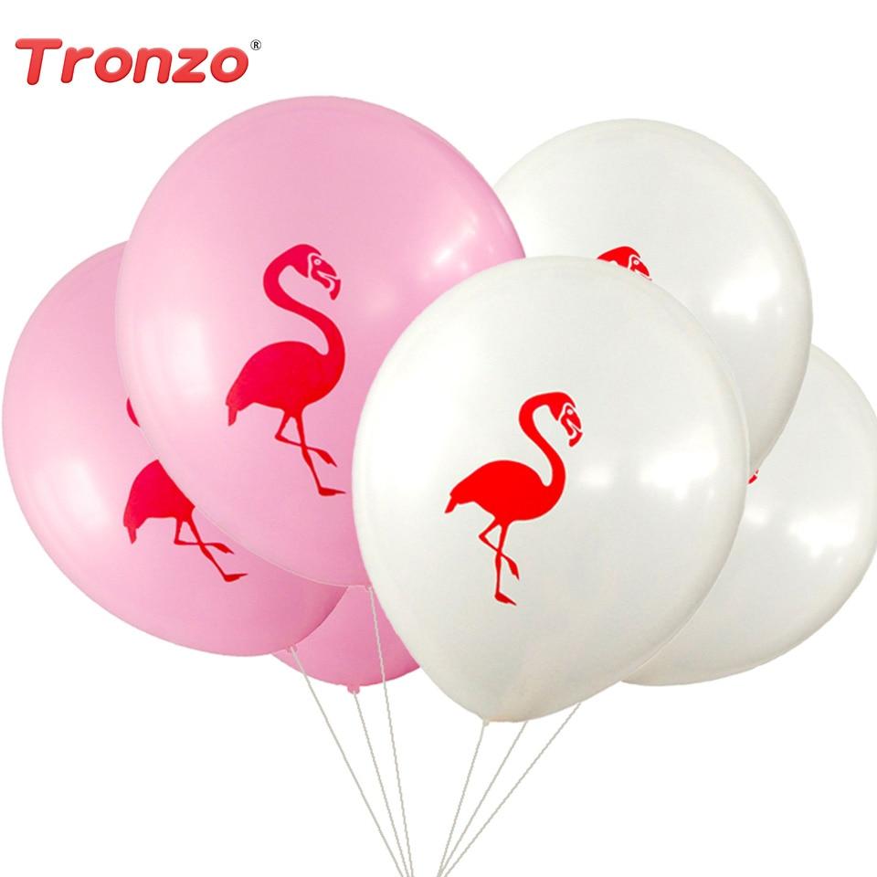 Tronzo 10 հատ / շատ Flamingo Latex Փուչիկներ Flamingo - Տոնական պարագաներ