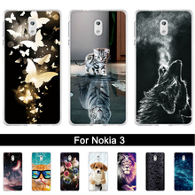 For Nokia 3 Case TA-1032 TA-1020 TA 1032 1020 1038 Silicone Back Phone Cover Print Shells For Nokia3 5.0