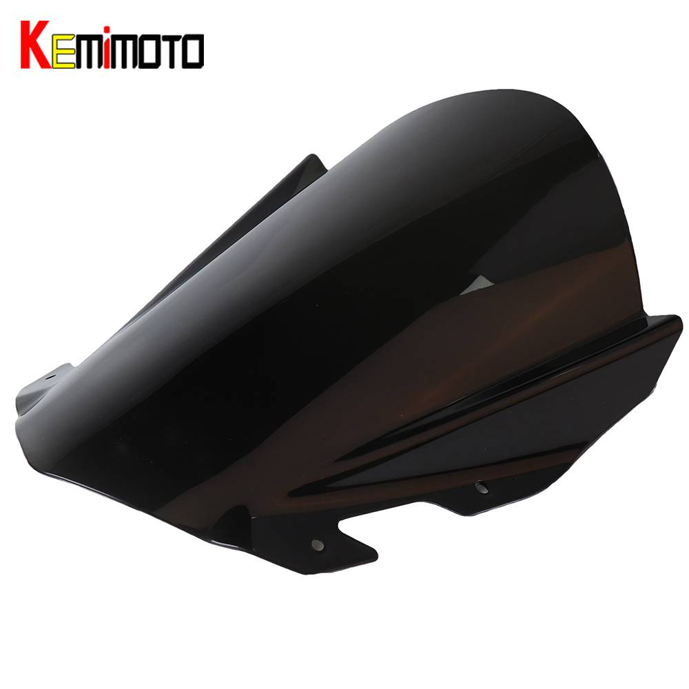 KEMiMOTO For KTM RC125 RC200 RC390 Windscreen For KTM RC 125 200 390 Windscreen Windshield Wind