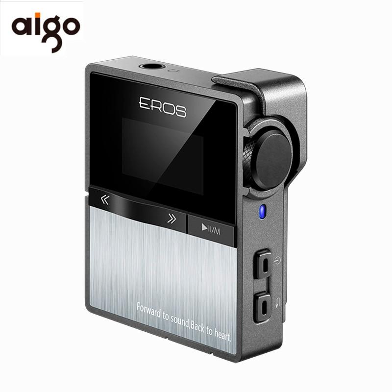 Aigo EROS dix lecteur HIFI sans perte bluetooth Mp3 professionnel USB DSD DAC Portable Mini stéréo lecteur de musique Audio Support 128 GB