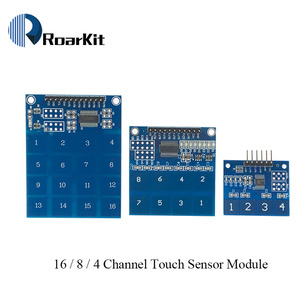 4-полосный/TTP226 8-канальный/TTP229 16-канальный переключатель, сенсорный сенсор, модуль емкостного сенсорного датчика