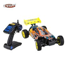 Envío Gratis HSP Baja 1/10th escala Nitro Power Off Road Buggy 4WD RC coches 94166 con 18cxp del motor 2,4G de Radio Control(China)