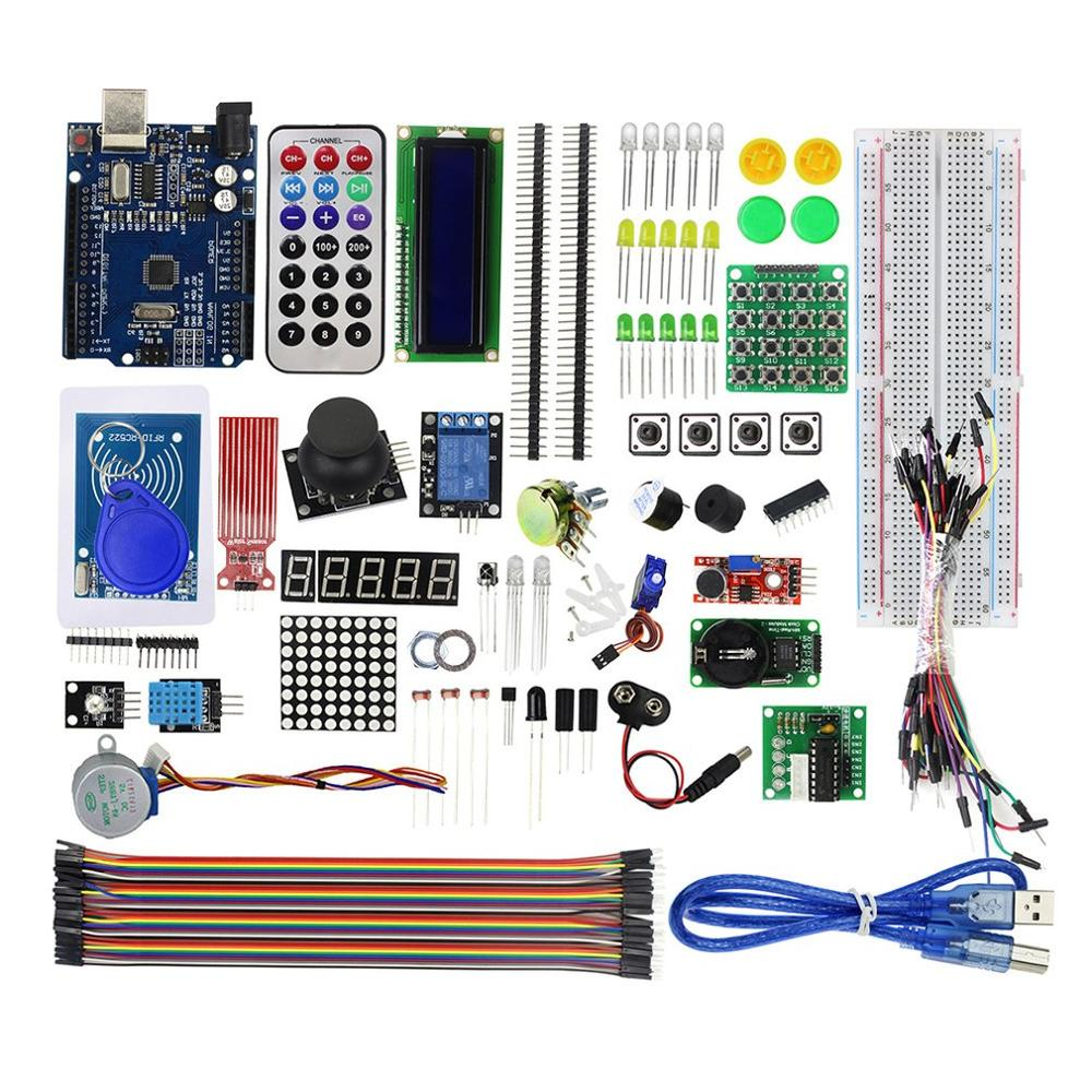 Starter Kit Rfid Box Learning Kit Stepper Motor Learning Kit Uno