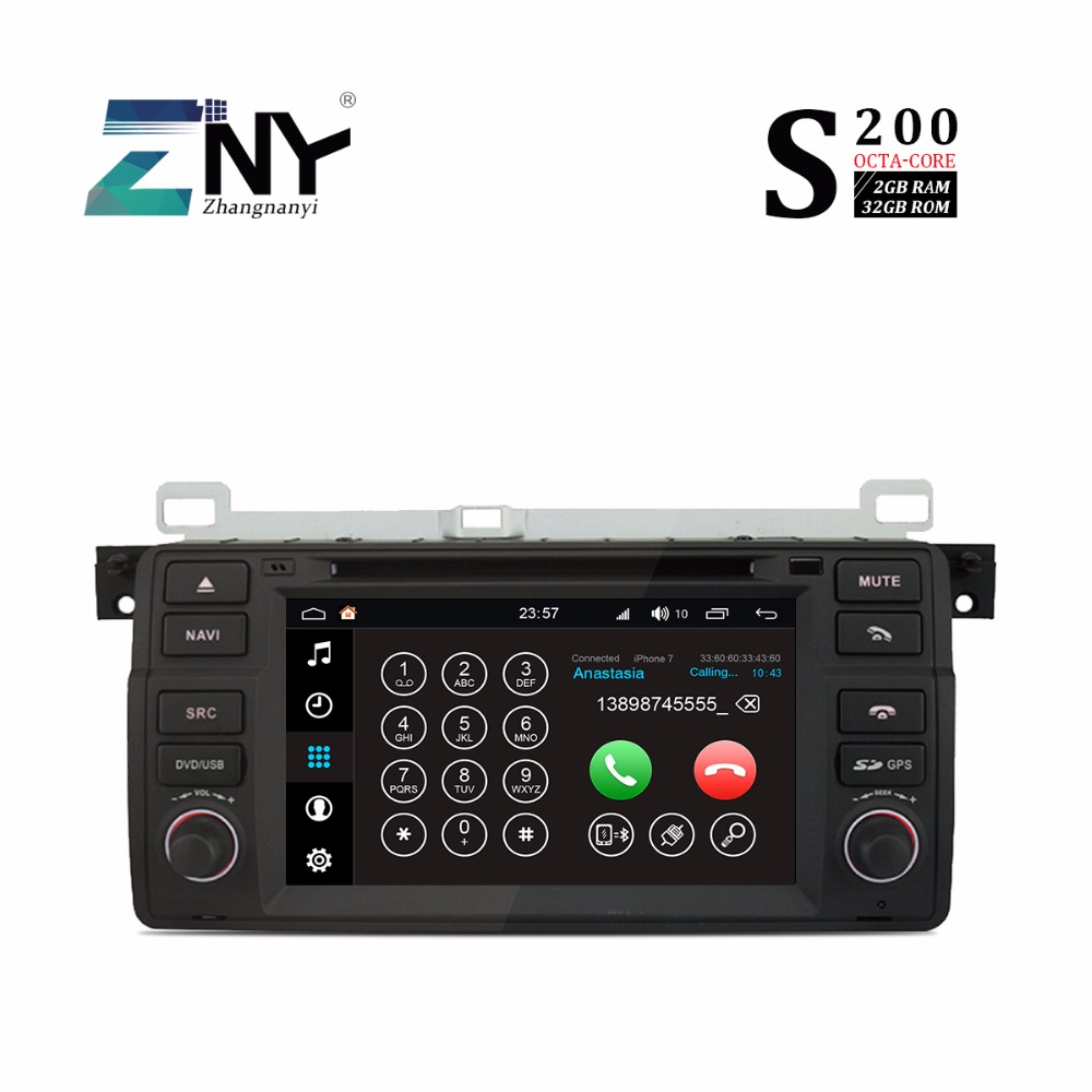 Us 323 99 Android 8 0 Auto Radio Car Dvd For Bmw E46 X3 Z3 Z4 7 Octa Core Stereo Bluetooth Rds Fm Audio Video Gps Navigation Carplay In Car