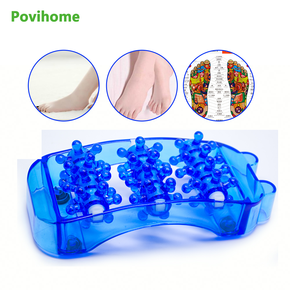 Foot Arch Pain Acupressure/Reflexology Tool Perfect Gift Foot Massager Roller Relieve Plantar Fasciitis Heel Z78901 synthia andrews acupressure and reflexology for dummies