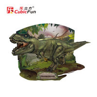 Cubic Fun 3D Model The Dinosaur Century Model Jigsaw Puzzle Educational Toys For Children S Gifts
