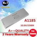 "Белый 55Wh лэптоп аккумулятор для Apple MacBook 13 "" A1185 A1181 MA561 MA561FE / A MA561G / A MA254"