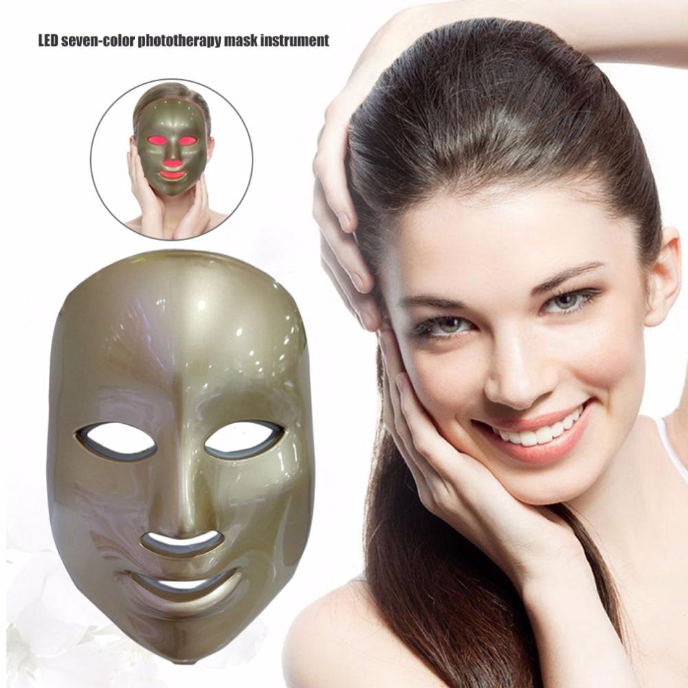 Korean Photodynamic LED Facial Mask Home Use Beauty Instrument Anti Acne Skin Rejuvenation LED Photodynamic Beauty Face Mask my beauty diary mask my beauty дневник месяц влажная и ярко за счет комбинации оборудования для отправки 23мл 16 4 16 black pearl песчаный алое 4