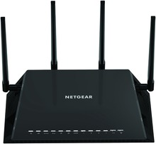Original NETGEAR AC2600 R7800 WI-FI Router Nighthawk X4S 4x4 Dual Band Smart Gigabit Ethernet MU-MIMO asus rt ac88u ac3100 dual band gigabit wifi 802 11ac mu mimo 2 4ghz 5ghz 8ports gigabit ethernet black red 3g 4g router