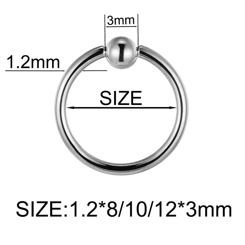 G23titan Eyebrow Jewelry Silver Eyebrow Rings 16g Titanium Eyebrow