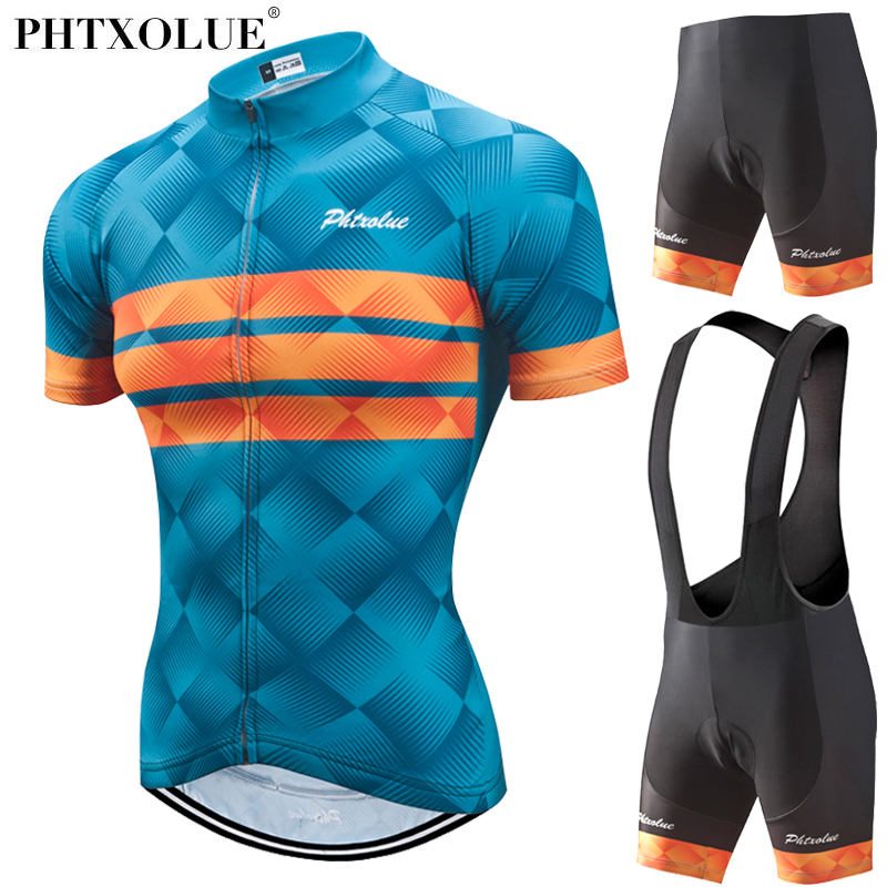Phtxolue Women Cycling Set 2018 Summer Style Bicycle Mtb Bike Sport Cycling Clothing Short Sleeve Jersey Maillot Ciclismo phtxolue women summer quick dry cycling jersey set maillot ropa ciclismo racing bicycle clothing mtb bike clothes cycling set